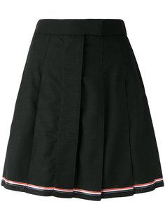 плиссированная юбка мини Thom Browne