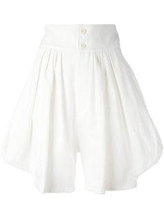 расклешенные шорты Chloé