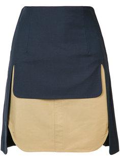 двухслойная юбка Toga