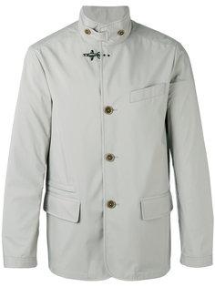 куртка на пуговицах с высокой горловиной Fay