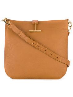 сумка-хобо с Т-образной застежкой Tom Ford