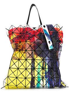 плоская сумка с красочным рисунком Bao Bao Issey Miyake