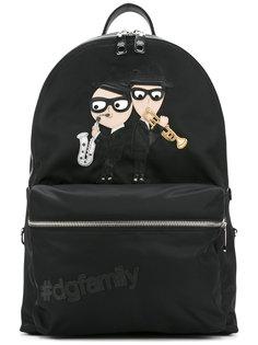 рюкзак с заплаткой Vulcano Designers Dolce & Gabbana