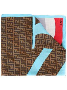 платок с логотипом Fendi