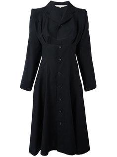 платье с вырезом и рукавами-кимоно Comme Des Garçons Vintage