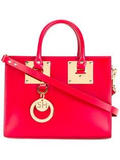 сумка-тоут с подвеской-логотипом Sophie Hulme