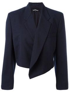 трикотажный укороченный пиджак Comme Des Garçons Vintage
