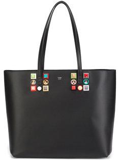 сумка-тоут с заклепками Fendi