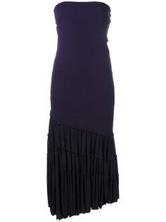 платье-макси с рюшами Jean Paul Gaultier Vintage