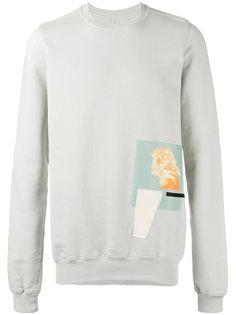 patch sweatshirt Rick Owens DRKSHDW