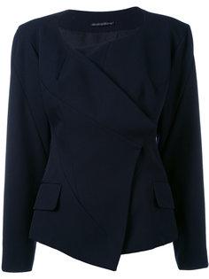 асимметричный пиджак без воротника  Yohji Yamamoto Vintage