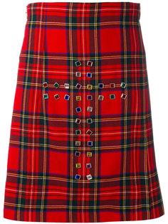 клетчатая юбка-килт Comme Des Garçons Vintage