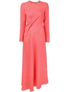 twist front dress Edeline Lee