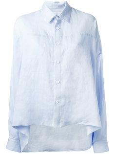 рубашка с эффектом кейпа  Ys Y`s