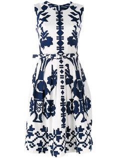 flared sleeveless dress  Samantha Sung