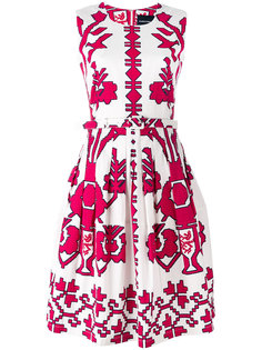 sleeveless printed dress  Samantha Sung