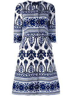 printed flared dress  Samantha Sung
