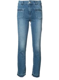 Split Hem Jeans Anine Bing