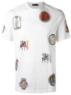 футболка с принтом Ancient Greek  Versace