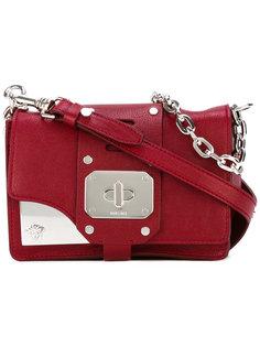 сумка на плечо с металлической отделкой Versace