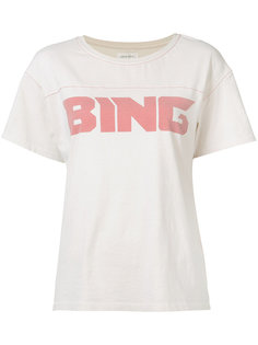 футболка с принтом Bing Anine Bing