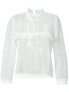 Lace Sweatshirt Anine Bing