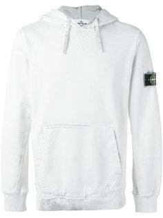 front pocket hoodie Stone Island