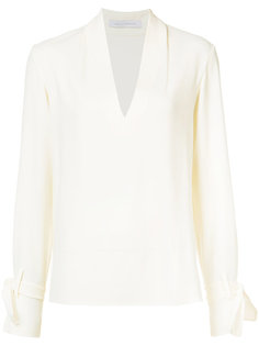 блузка с завязками на рукавах Sally Lapointe
