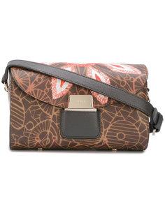 сумка через плечо с цветами Furla