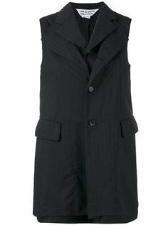 куртка без рукавов в тонкую полоску Comme Des Garçons Comme Des Garçons