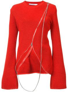 асимметричный свитер Givenchy