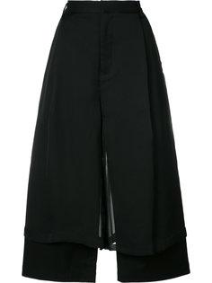 double-layer wide-leg trousers Comme Des Garçons Noir Kei Ninomiya
