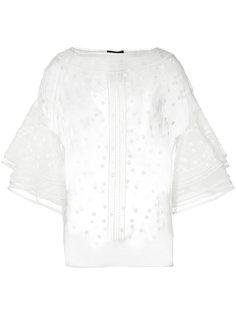 прозрачная блуза Les Copains