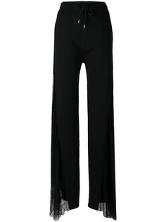 lace panel palazzo pants McQ Alexander McQueen