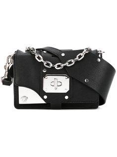 сумка на плечо с бляшкой с логотипом Versace