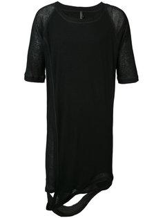 удлиненная асимметричная футболка Barbara I Gongini