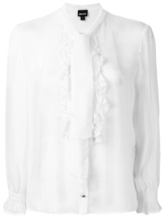 ruffle front blouse Just Cavalli