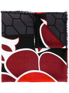 шарф с геометрическим принтом Bulgari