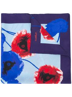 шарф с рисунком Emanuel Ungaro