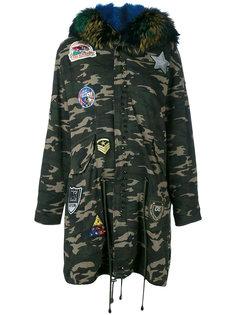 пальто с оторочкой мехом койота Liska