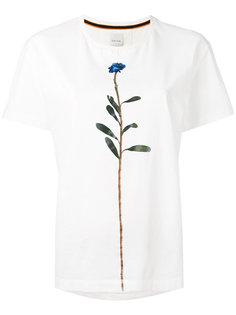 футболка с цветочным принтом Paul Smith
