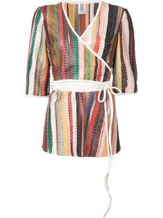 топ в стиле кимоно с поясом Rosie Assoulin