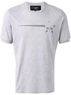 футболка с принтом черепа Hydrogen