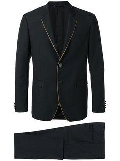 костюм с контрастной окантовкой Tonello