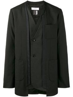 асимметричный пиджак-кимоно Facetasm