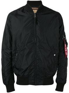 куртка-бомбер с ярлыком-подвеской  Alpha Industries