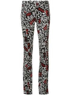 джинсы с принтом Paco Rabanne