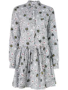 платье шифт с цветочным принтом Opening Ceremony