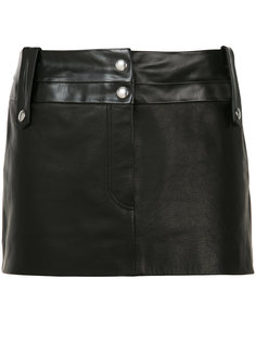короткая кожаная юбка   Beau Souci
