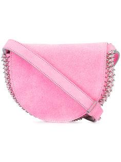 сумка с плетением из цепочки сбоку Paco Rabanne